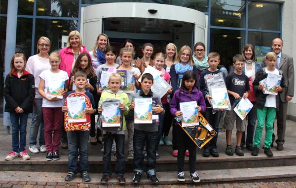"""Gewinner Internationaler Jugendwettbewerb """"jugend creativ"""" der Volksbank Nordschwarzwald eG"""