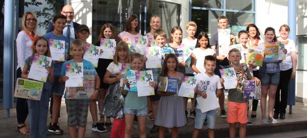 """Die Sieger des 46. Internationalen Jugendwettbewerbs """"jugend creativ"""" der Volksbank Nordschwarzwald eG"""