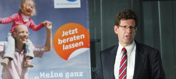 Dr. Volker Kienzlen, Geschäftsführer der Klimaschutz- und Energieagentur Baden-Württemberg