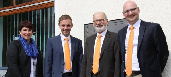 Zweigstellenleiter Hans Kopp wird in den Ruhestand verabschiedet, Florian Buob tritt Nachfolge an