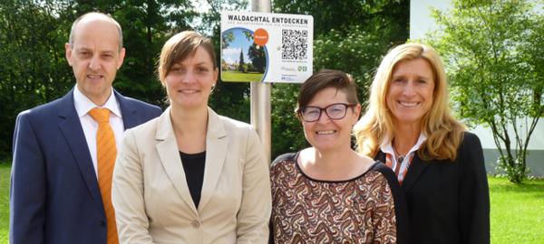 Gemeinde Waldachtal mit QR-Code-Tafeln ausgestattet