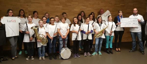 T-Shirt-Spende Jugendensemble BrassCLUB des Musikvereins Egenhausen