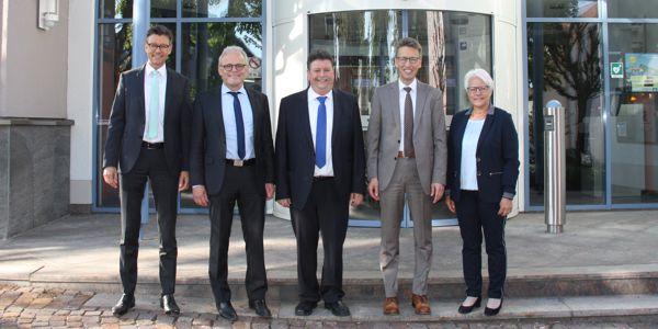 Volksbank Nordschwarzwald eG verabschiedet Kurt Heinzelmann in den Ruhestand