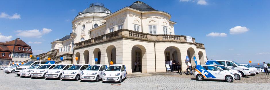 Übergabe VR-mobil, Schloss Solitude